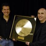 Zildjian Auszeichnung Thomas Franke und Jan Rohlfing 2008