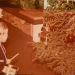meine ersten Trommelversuche unterm Weihnachtsbaum